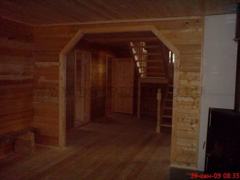 Арка в дачном доме фото