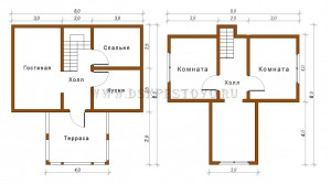 проект дома 5х8